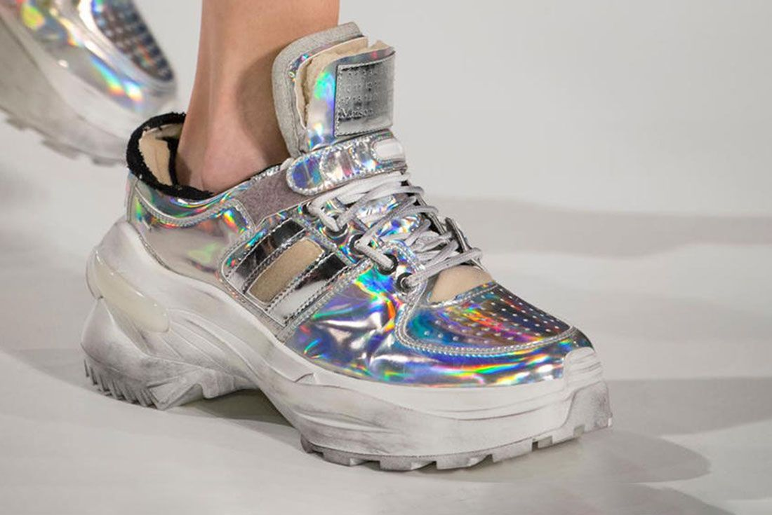 Maison Margiela Fall Winter Paris Fashion Week Sneakers 2 On Foot