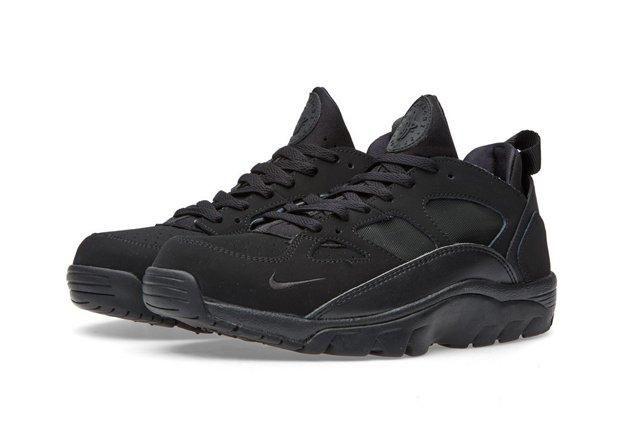 Nike Air Trainer Huarache Low Black Black 3