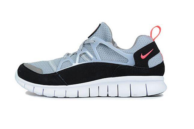 Nike Free Hurache Light Wolf Grey Infrared Spring Side 1