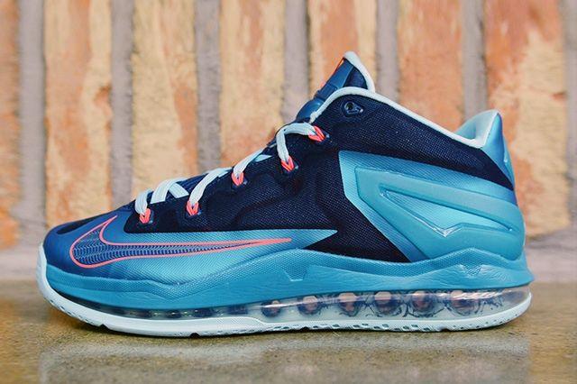 Nike Lebron 11 Low Turbo Green 2