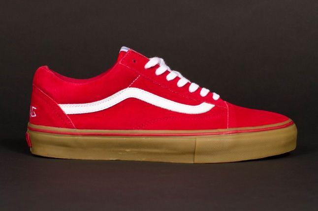 Odd Future Vans Syndicate Oldskool Pro Red Profile 1