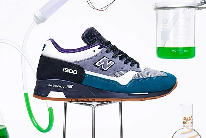 New Balance 1500 Sample Lab Blue Lateral Side Shot