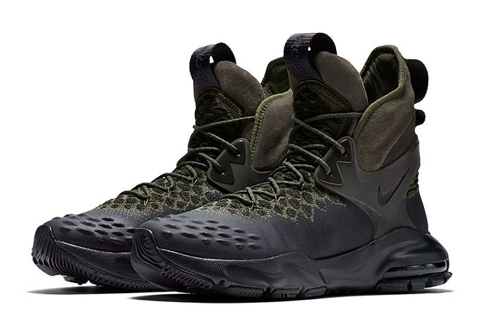 Nike Acg Zoom Tallac Flyknit Olive 1
