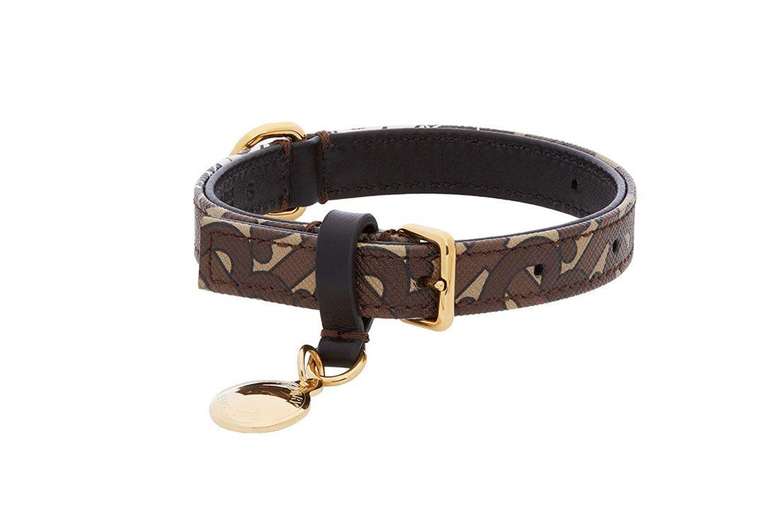 Ssesne Burberry Dog Collar Brown
