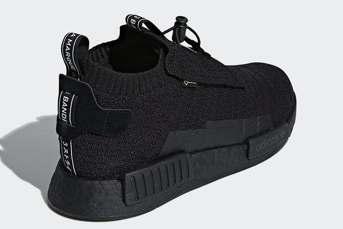 Adidas Nmd Ts1 Gore Tex Teiple Black 7