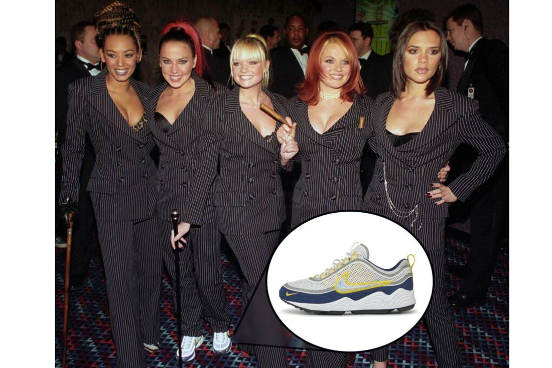 Spice Girls Sporty Spicenike Air Zoom Spiridon