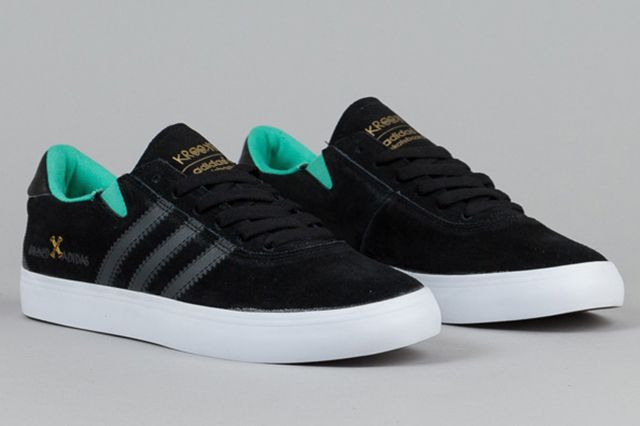 Adidas Gonz Pro Black Solid Grey Solo Mint 1