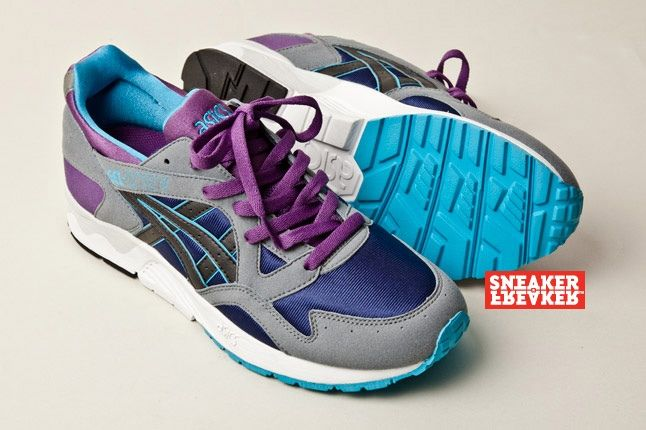 Asics Gel Lyte V Grey Purple Blue 5 Hero 1