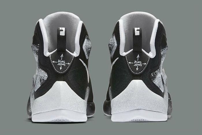 Nike Lebron Comic Book Hero Gs Black White 2