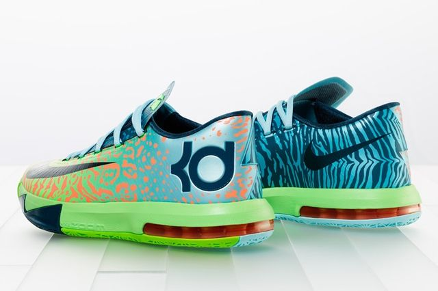 Nike Kd Vi Animal Print