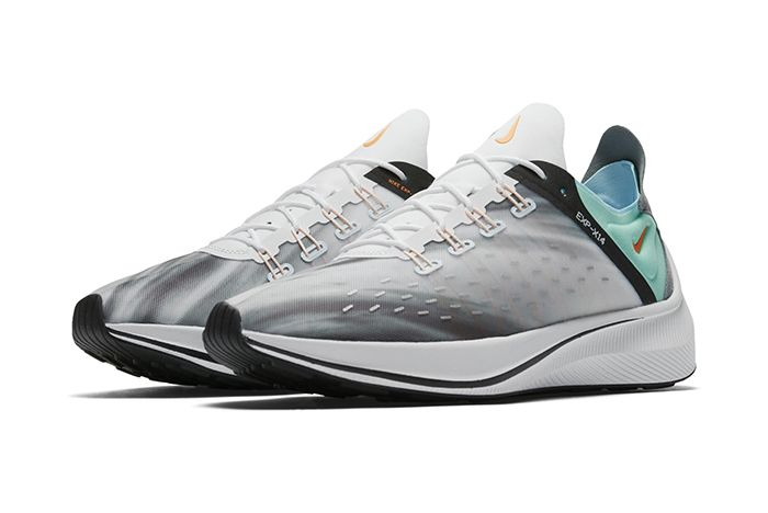 Nike Exp X14 Qs White Emerald Rise Cone Blue Chill 1