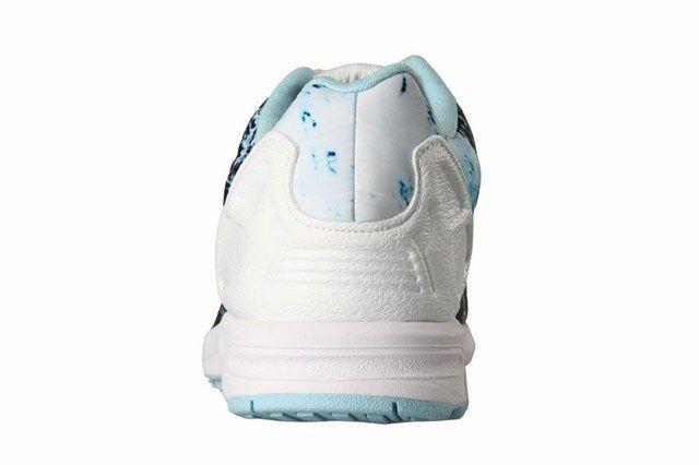Adidas Zx Flux Blue White 3