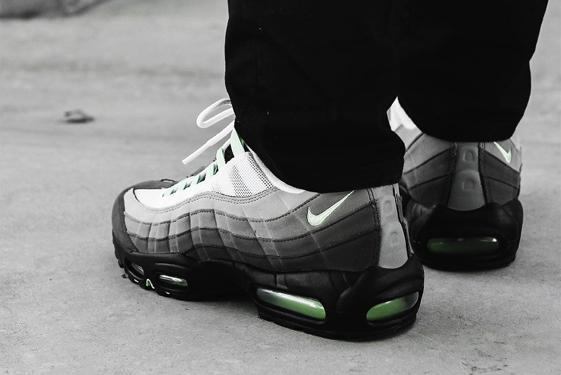 Nike Air Max 98 Air Max 95 Fresh Mint Pack Heel