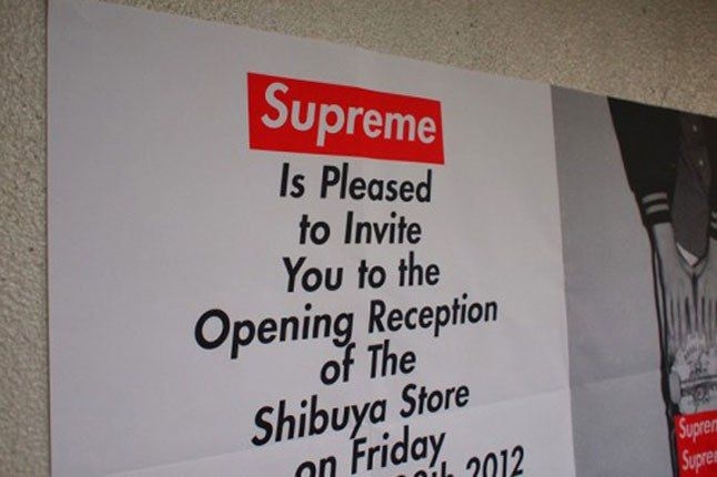 Supreme Shibuya Japan 1