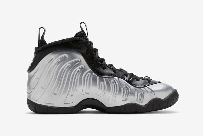 Nike Little Posite One Chrome Medial