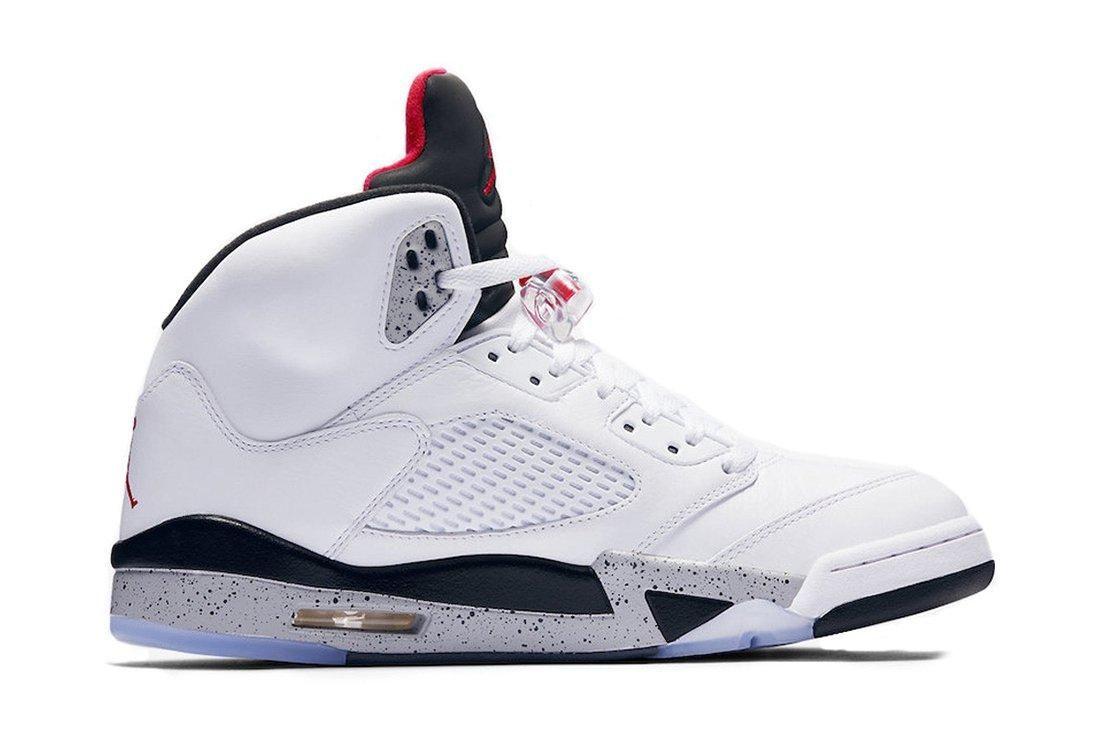 Air Jordan 5 White Cement5