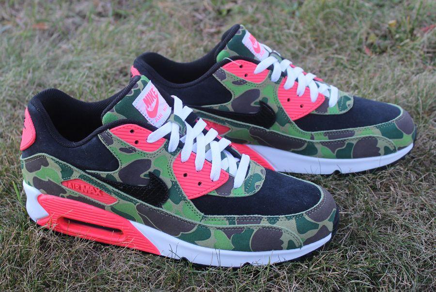 atmos x Nike Air Max 90 'Dunk Camo'