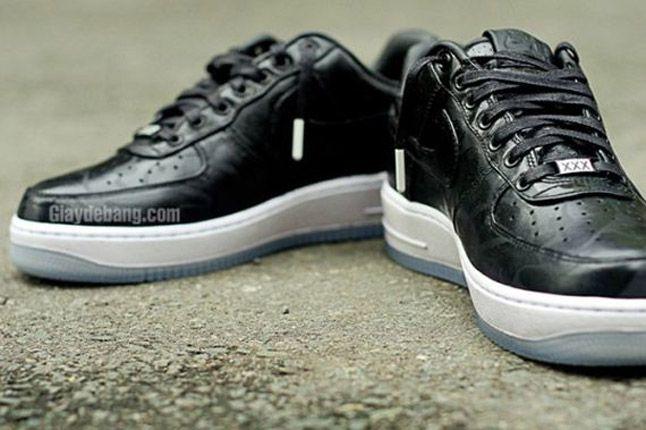Nike Air Force One 1 Supreme Black Camo Heels 2012 1