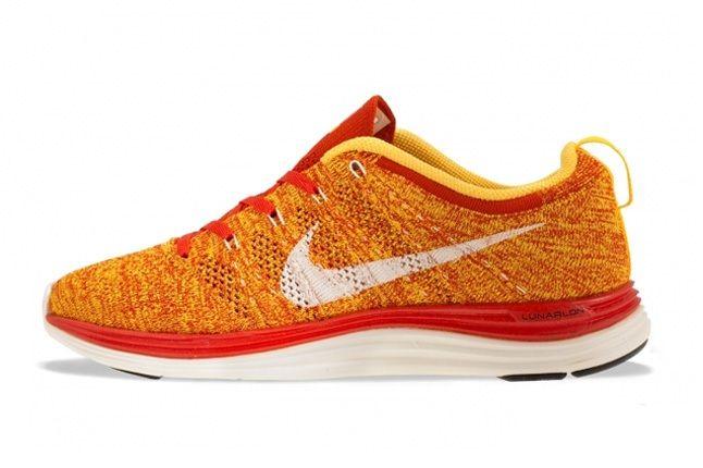 Nike Flyknit Lunar 1 Team Orange 3