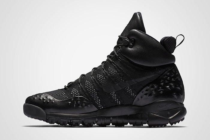 Nike Acg Lupenik Flyknit All Triple Black Thumb