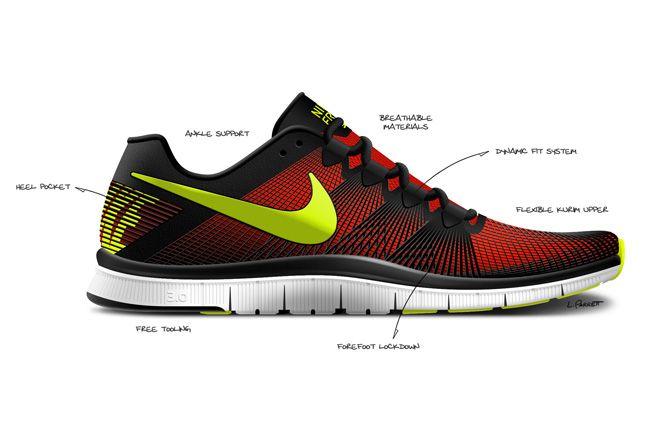 Nike Free Trainer 3 0 Sketch 1
