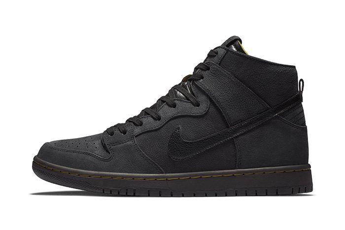 Nike Sb Dunk High Decon Black Gold 1