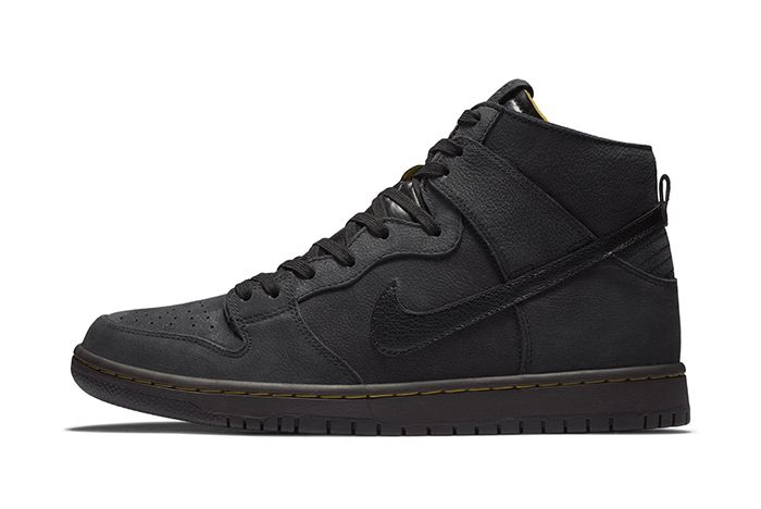Nike Sb Dunk High Decon Black Gold 1
