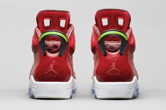Air Jordan 6 Varsity Red Bump 4