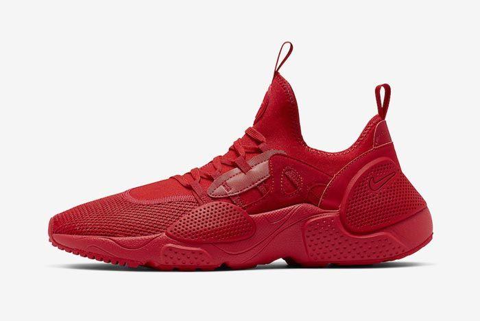 Nike Huarache Edge Txt University Red Lateral