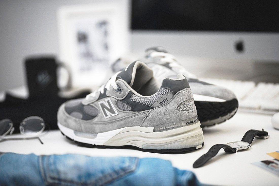 New Balance 992 OG Grey