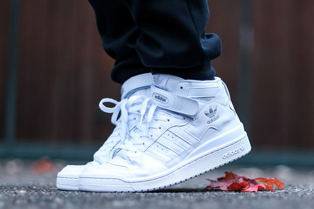 Adidas Forum Mid Triple White 1