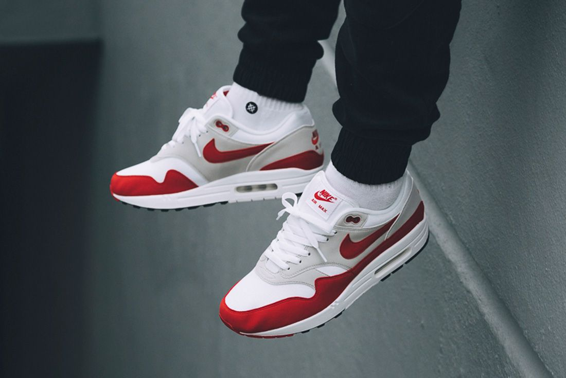 Nike Air Max 1 Red University Red 2