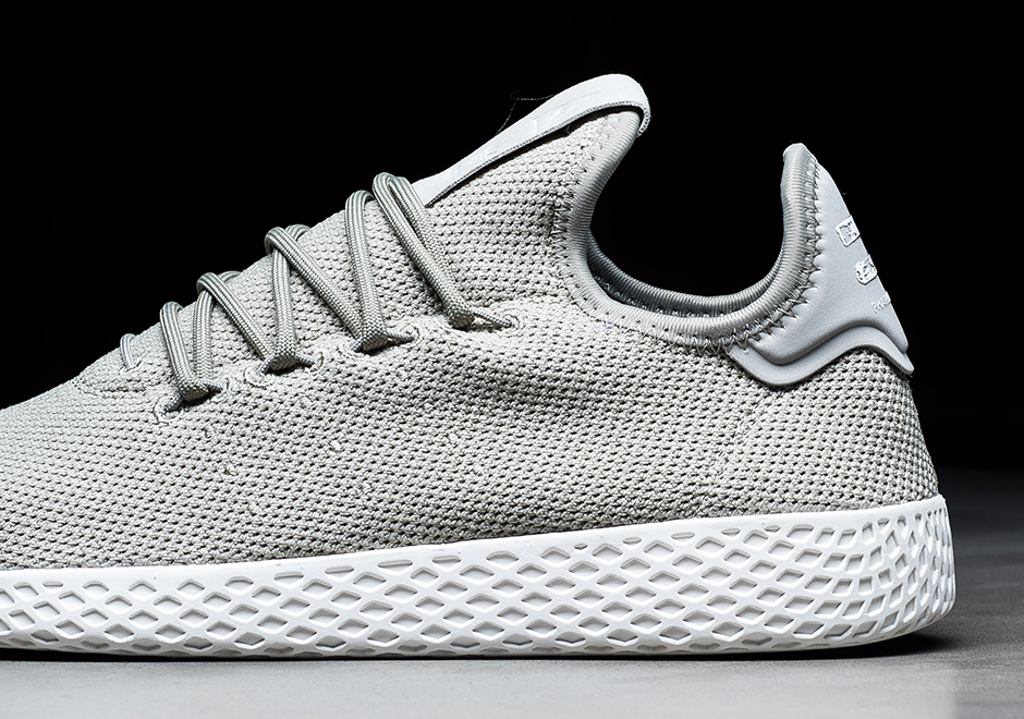 Pharrell Adidas Tennis Hu Grey Cq2163 1