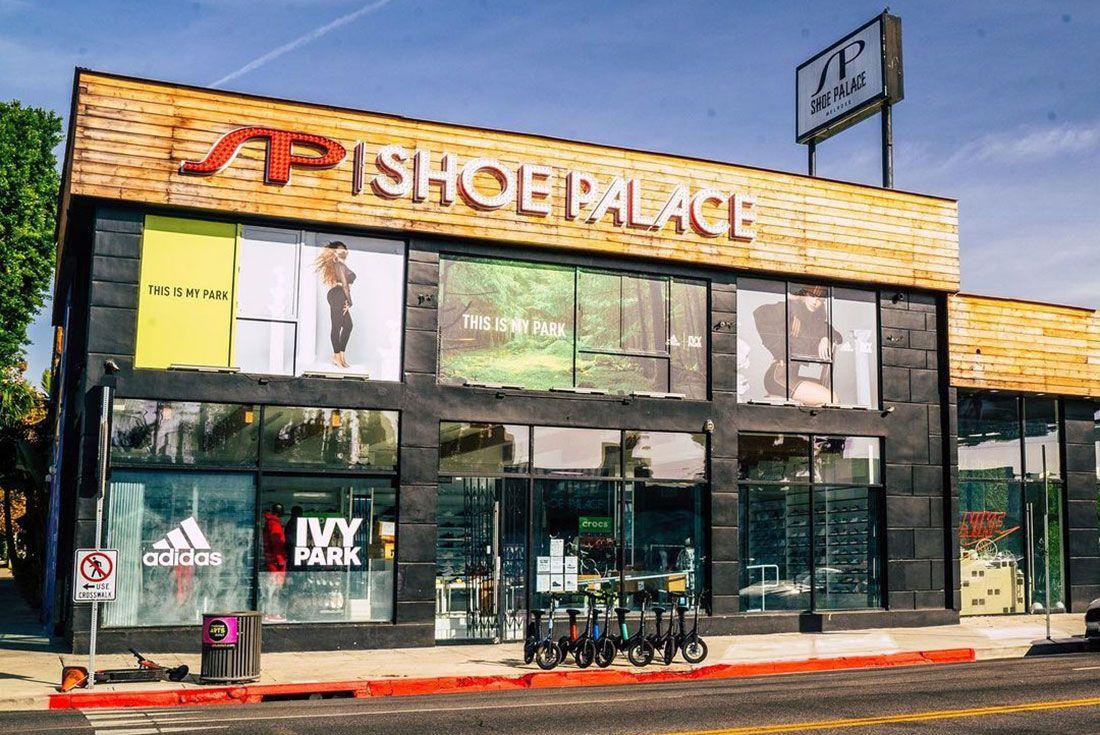 Shoe Palace Shop Front