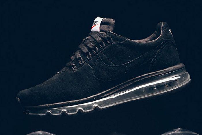 Nike Ld Zero Suede Navy Black Thumb
