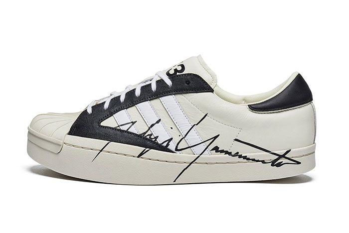 Adidas Y3 Yohji Star Side White