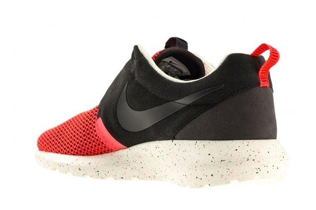 Nike Roshe Run Natural Motion Black Red 2
