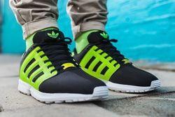 Adidas Originals Zx Flux 2 0 Tonal Neon Thumb