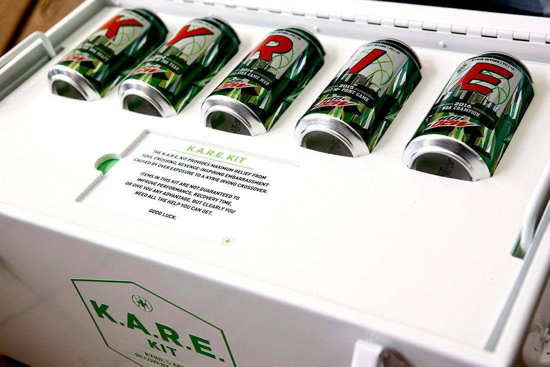 Mountain Dew X Nike Kyrie 3 K A R E  Kit10