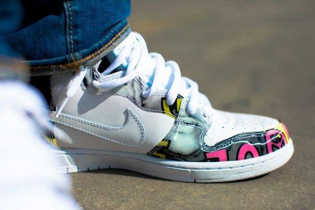 A Closer Look At The De La Soul X Nike Sb Dunk High 5