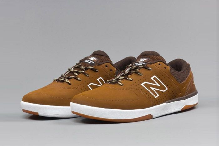 New Balance Numeric Pj Stratford 533 Brown 2