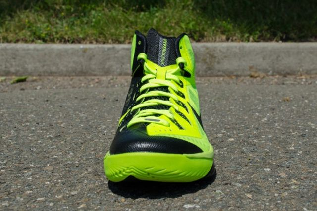 Nike Hyperdunk 2014 Volt Black 4