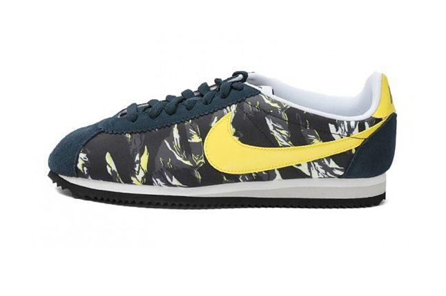 Nike Cortez Prm Tiger Camo Pack Yellow 4 1