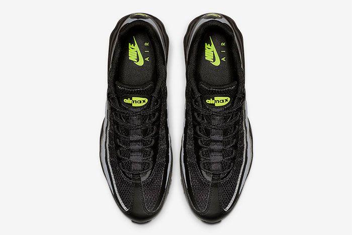 Nike Air Max 95 Ultra Black Grey Volt Top