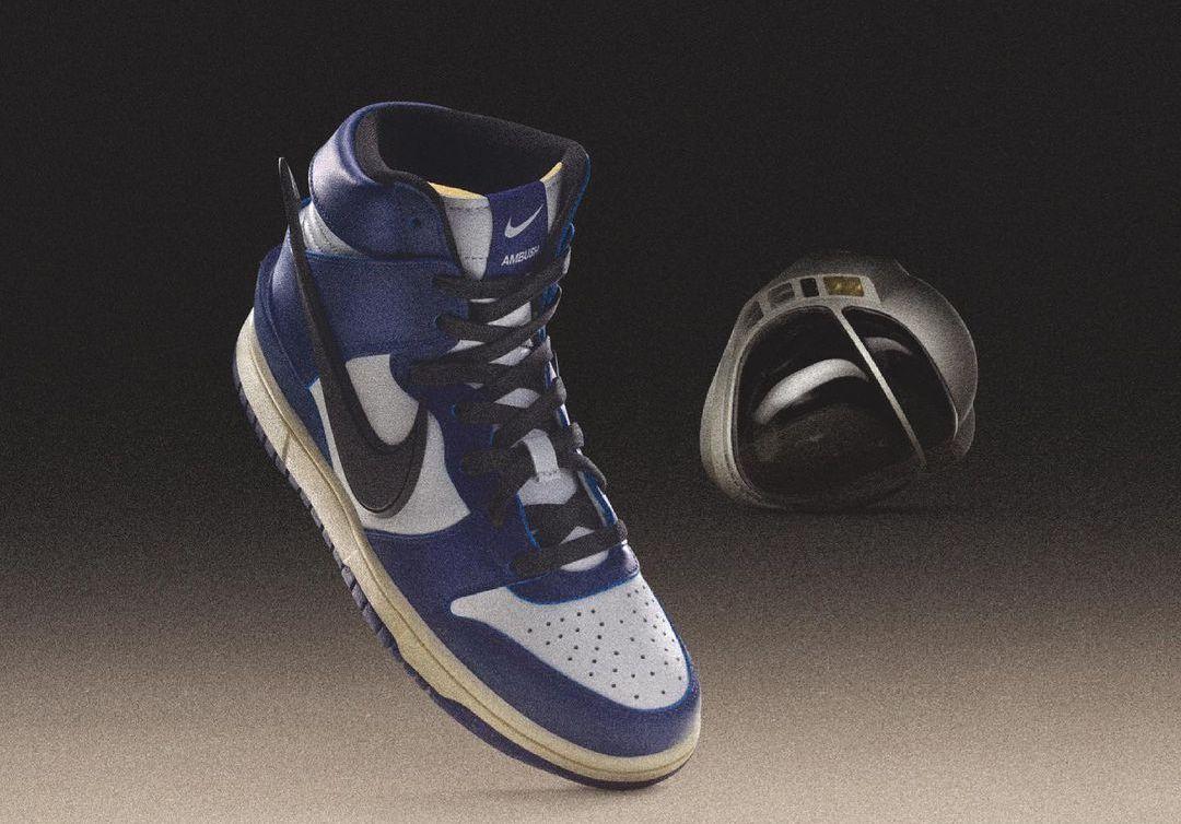 AMBUSH Nike Dunk High Deep Royal