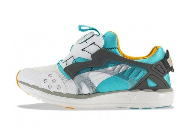 Puma Disc Blaze 1993 Peackock Blue Blazing Orange 4