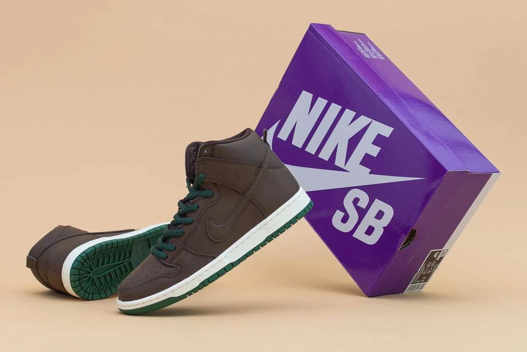 Nike SB Dunk High Baroque Brown Vegan