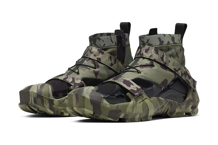 Matthew Williams Nike Free Tr 3 Sp Camo Ci1390 300 Release Date Pair