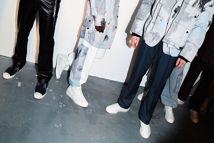 Feng Chen Wang Converse Jack Purcell 3Fashion Week London