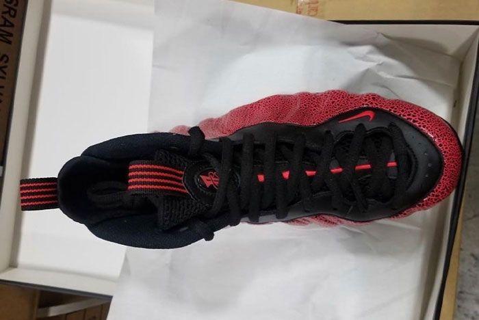 Nike Air Foamposite One Lava 314996 014 Top Shot